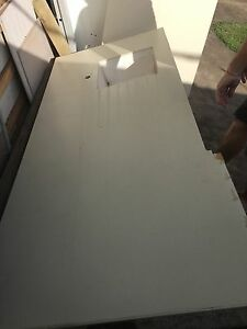 Kitchen bench with undermount sink and return. Bradbury Campbelltown Area Preview