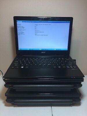 Lot Of  5  Acer Aspire V5 131 11 6  Netbook 1 1Ghz  No Ram Or Hdd