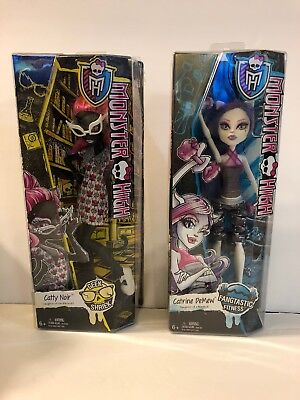 Monster High Dolls Catty Noir And Catrine Demew