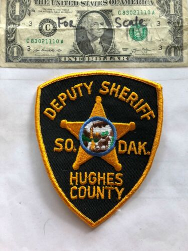 Hughes County South Dakota Police Patch(Deputy Sheriff) un-sewn in great shape