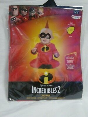 Disney The Incredibles 2 BABY JACK JACK Infant Costume 6-12 Months - A1107