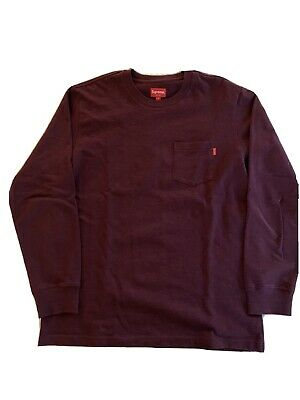 supreme pocket Long tee