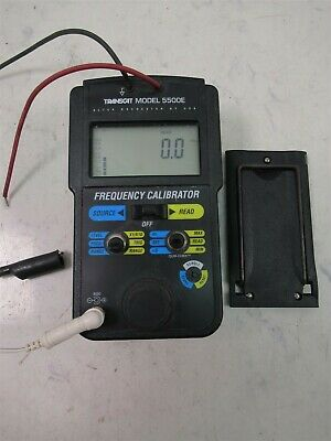 Altek Transcat 5500e Frequency Calibrator Portable Test Unit
