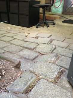 Wanted: Courtyard paving