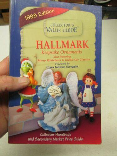 """1998 COLLECTOR""""S GUIDE BOOK FOR HALLMARK ORNAMENTS"""