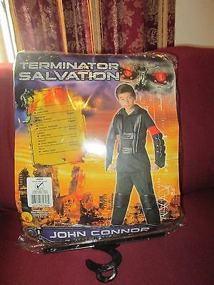 New Terminator Salvation Deluxe John Connor kids complete Costume size Large - Kids Terminator Costumes