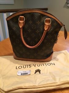 Authentic Louis Vuitton Lockit Handbag