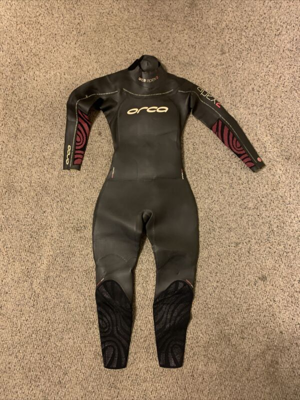 Orca Apex 2 Womens Full Triathlon Wetsuit Size Small - Retail $349