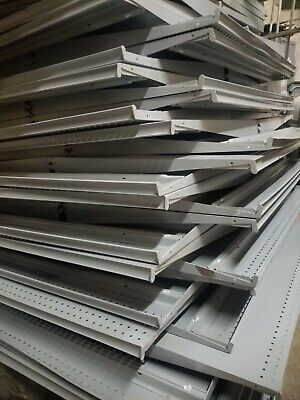 Lot Of Shelves Gondola Shelving Madix Retail Store Aisle Wall Local Pickup Only