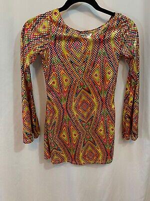 CALIFORNIA COSTUME COLLECTION Girls Medium Retro Disco Dance Dress - Retro Dance Costume