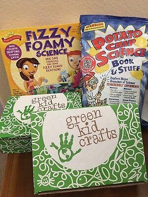 Kids Educational Science Experiment Kits - LOT - Lava, Detective, World, Potato