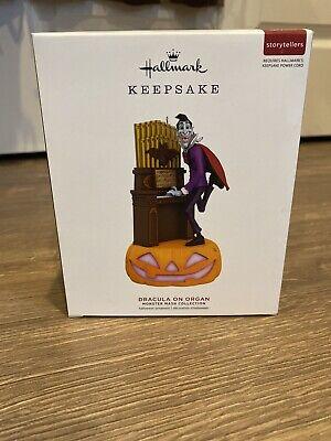 HALLMARK Dracula on Organ Halloween Ornament NIB 2019 - Monster Mash Keepsake