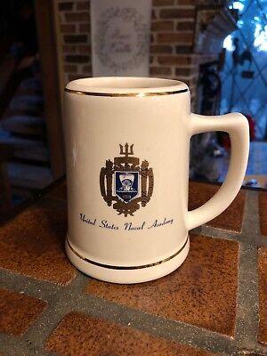 - United States Naval Academy Crest Mug TANKARD STEIN