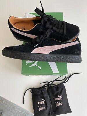 Puma Clyde Patta Uk 8.5 Great Condition Black