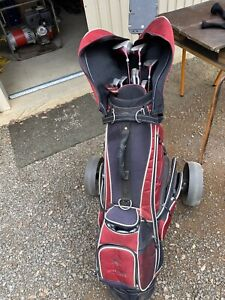Ladies red back golf clubs