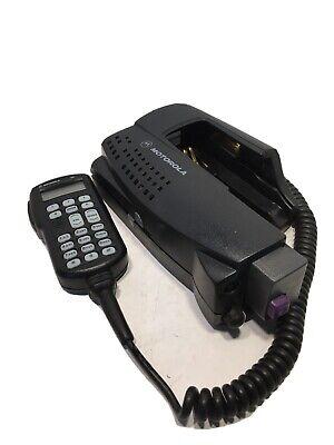 Motorola Ntn8560f Xts Mtp Radio Vehicular Adapter Convertacom W Pln7737b Mic