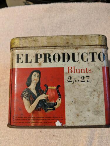 Vintage El Producto cigar tin