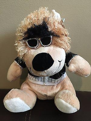 Sugar Loaf Lion Plush Brown Wild Thing Jacket Glasses Stuffed Animal NEW W (Sugarloaf Glass)