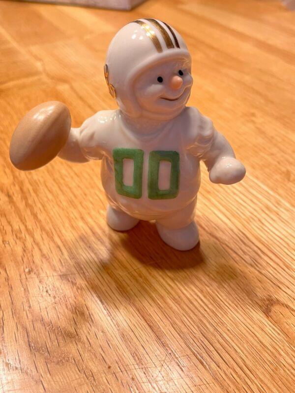 2000 lenox snowman football player