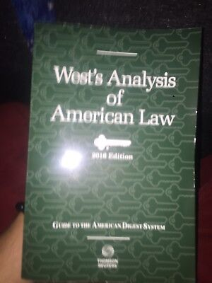 Wests Analysis Of American Law 2016 Edition  Thomson Reuters