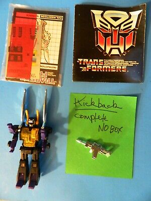 REDUCED Transformers Original Hasbro G1 1985 Insecticon KICKBACK//no Box/Set B