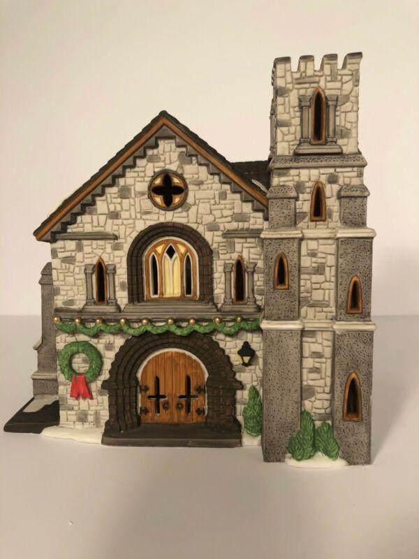 """Dept 56 Dickens Village Series """"Whittlesbourne Church"""" 58211"""