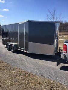 2012 LOOK ATV/SLED 21x7 SLED TRAILER