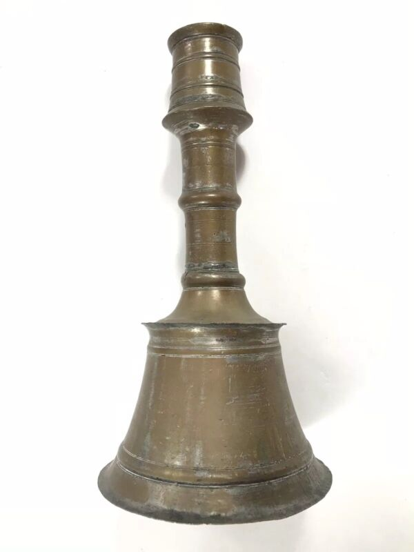 Antique Islamic 19 Century, or earlier,  Candlestick