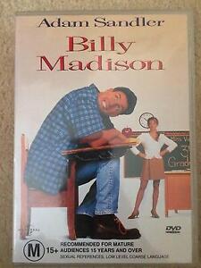 Billy Madison - DVD - Adam Sandler - FREE POSTAGE Cranbourne North Casey Area Preview