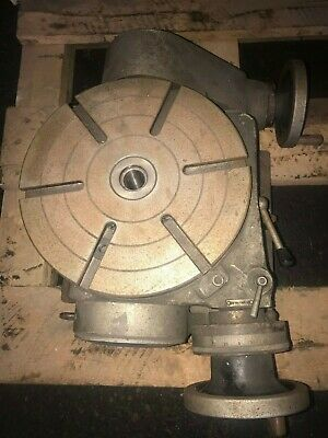 Tilting 9 34 Diameter Rotary Table