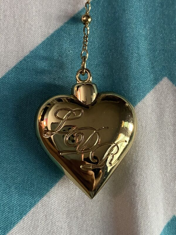 Rare Lana Del Rey Gold Rosary Spoon Vial Heart Necklace Endless Summer Tour Coke