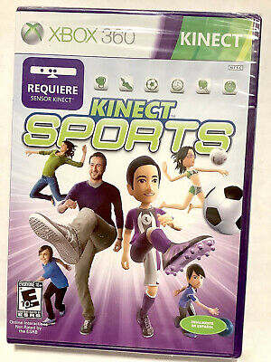 NEW Kinect Sports for Microsoft XBOX 360 Video Game SPANISH VERSION