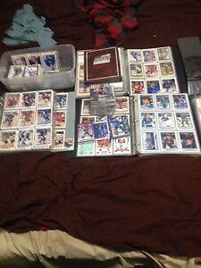 Lot of mixed hockey cards