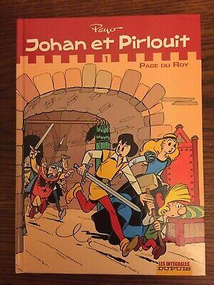 """""""Johan et Pirlouit"""" - Intégrale 1 - Dupuis - Peyo - EO - TTBE - Lu une fois"""