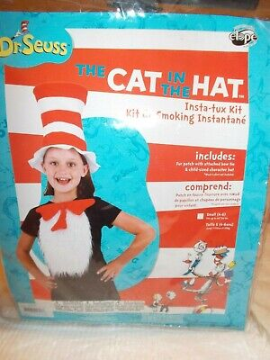 Dr. Seuss Cat in the Hat Child's Costume