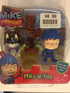 BRAND NEW Fisher-Price Mike The Knight - Mike & Yap