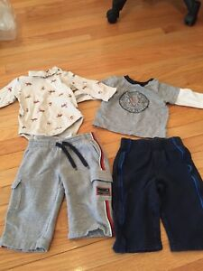 EUC Boy's 6-12 Months Clothing Lot Baby Gap & Old Navy 4pc Lot