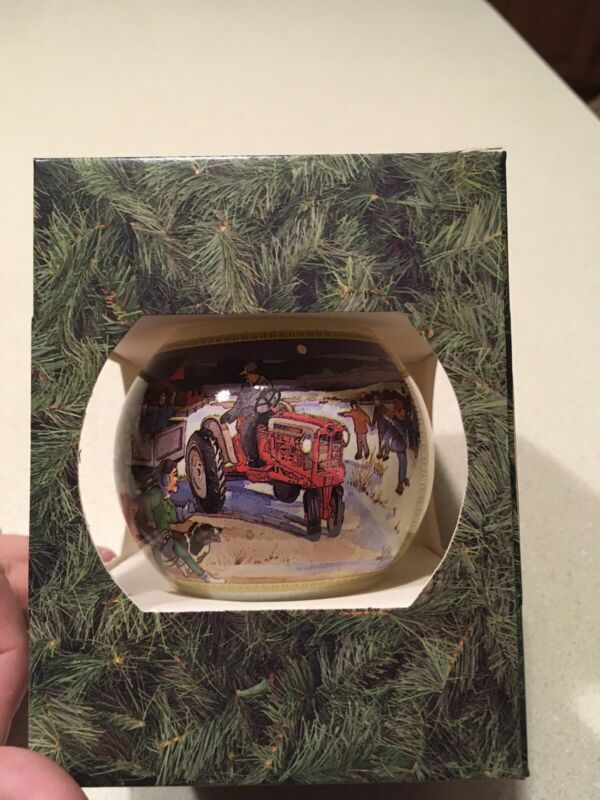 1994 Ford New Holland Christmas Ornament