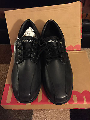 New Wilson- MENS- Matchplay Golf Shoes Black Size 11 M