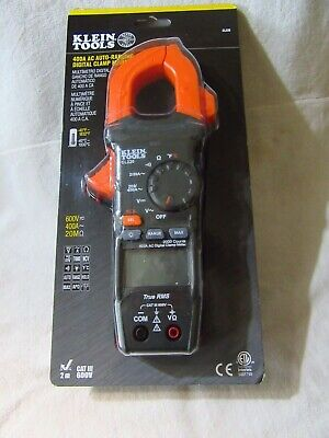 Clamp Meter - Klein Tools 400 Ac Auto Ranging Clamp - Cl220