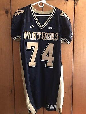 08f063abe505 Adidas Game Used Worn Pitt Panthers Football Jersey Big East  74