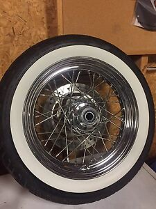 Softail Tire and Rim