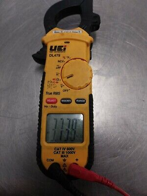 Uei Dl479 True Rms Clamp Meter