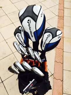 TaylorMade Jet Speed Full Set including Cart Bag Connolly Joondalup Area Preview