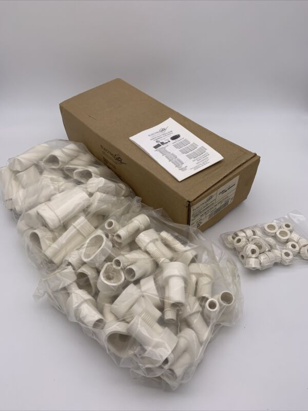 Wetbits 15mm End Cap White for Neon Lighting Electrobits 25pieces WBECW15MMWHT25