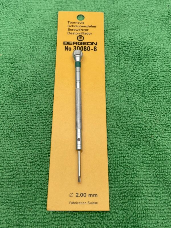 Bergeon 30080-8 2.0mm Screwdriver