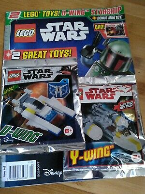 Lego Star Wars Magazine Issue 46 with U-Wing and Y-Wing