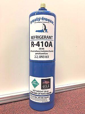 R410 R410a R-410a Refrigerant Air Conditioner 28 Oz. Can Air Conditioning
