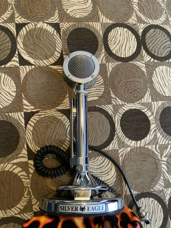 Astatic Silver Eagle microphone