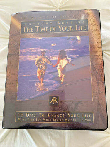 Complete/Unused Anthony Robbins The Time Of Your Life Time & Life Management Sys